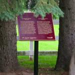 Parks Canada Plaque